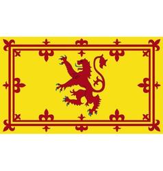 Royal standard of scotland vector