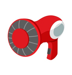 Icon hair dryer vector