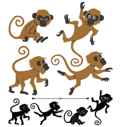 Monkeys vector