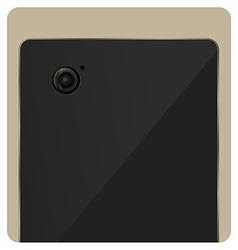Camera lens shutter icon vector
