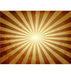 Distressed light burst background vector