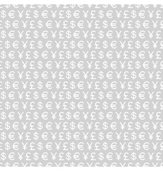 Currency signs vector
