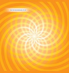 Orange vortex vector