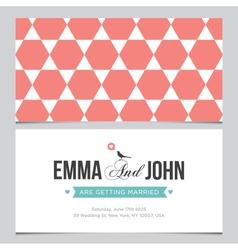 Wedding card pattern 04 vector