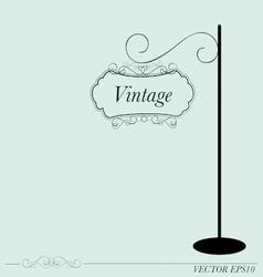 Vintage sign vector