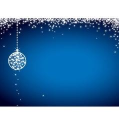 Glitter christmas card vector