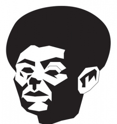 Abstract afro vector