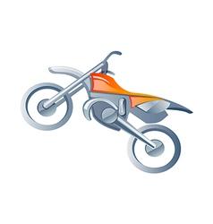 Icon motorbike vector