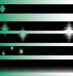 Black grunge strips 6 vector