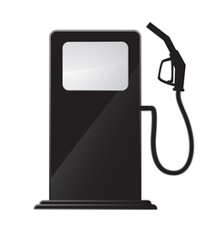 Gas station icon vector