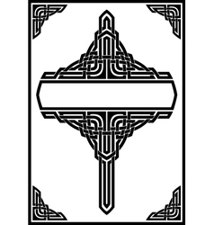 Gothic frame vector