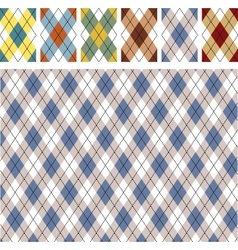 New scottish patterns vector