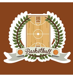 Basketball desing vector