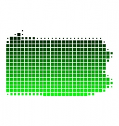 Map of pennsylvania vector