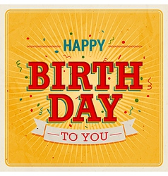 Happy birthday to you 2 vector