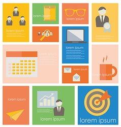 Icon businessoffice life vector