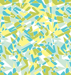 Seamless geometric pattern with polygon shapes vector