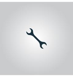 Mechanic wrench icon vector