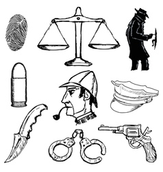 Detective objects vector