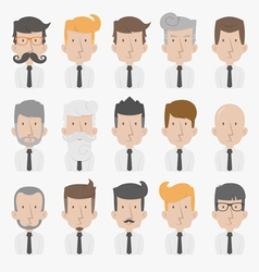 Businessman with white background  eps10 vector
