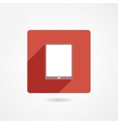 Ipad icon vector