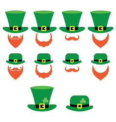 Leprechaun character for st patricks day vector