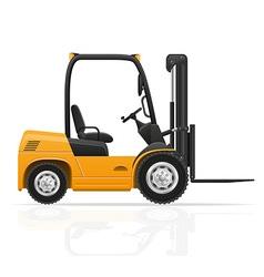 Forklift truck 01 vector