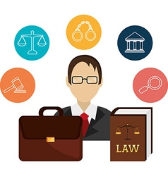 Law design vector