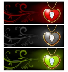 Jewelry background vector