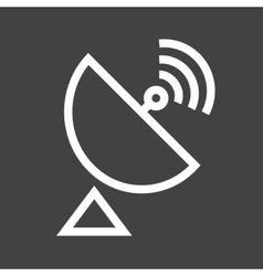 Satellite dish vector