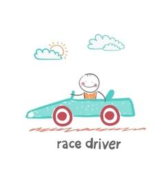 Race driver vector