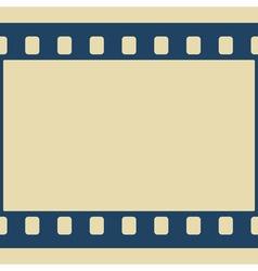 Film frame vector