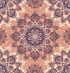 Ector seamless baroque damask luxury background vector