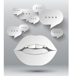 Bulb and lip vector