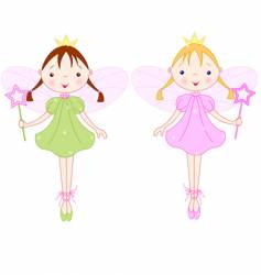 Little fairies vector