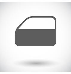 Car door vector