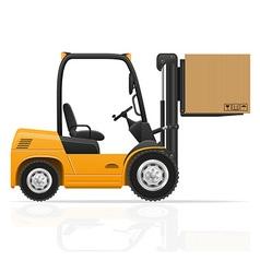 Forklift truck 02 vector