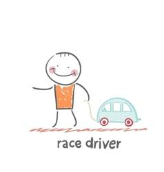 Driver rides vector