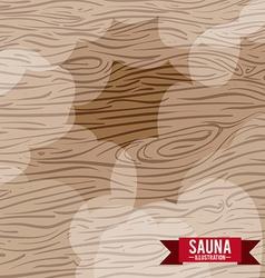 Wood design vector