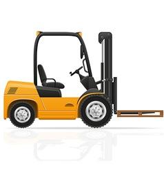 Forklift truck 03 vector