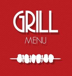 Grill menu1 vector