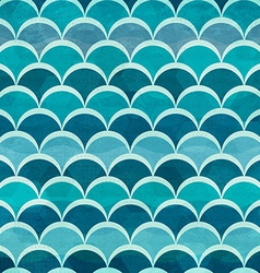 Water circle seamless pattern vector