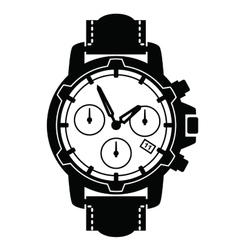 Watch icons vector
