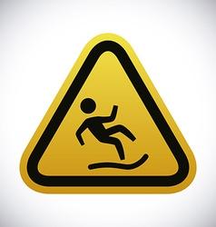 Danger advert design vector