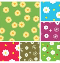 Flowering pattern vector