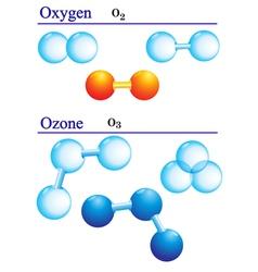 Molecule structures vector