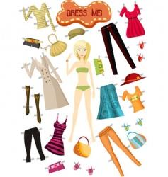 Clothes set vector