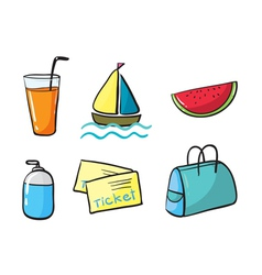 Various objects vector