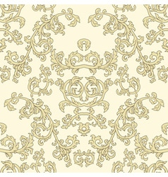 Damask seamless patterns vector