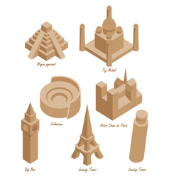 Landmark set vector